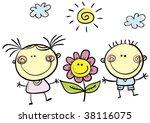 friendship day | Shutterstock .eps vector #38116075