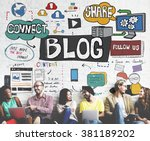 blog social media networking...