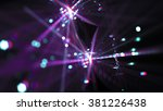 abstract colorful blurred... | Shutterstock . vector #381226438