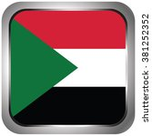 square flag icon of sudan | Shutterstock .eps vector #381252352