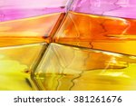 Colored Glass Textures Abstrac...