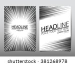 business brochure flyer design... | Shutterstock .eps vector #381268978