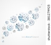 abstract background with... | Shutterstock .eps vector #381279925