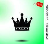 crown vector icon.