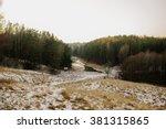 winter wood | Shutterstock . vector #381315865