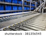 close up shot of two roller... | Shutterstock . vector #381356545