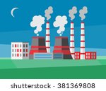 Power Plant Illustration In A...