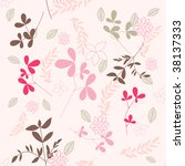 seamless  floral background | Shutterstock . vector #38137333