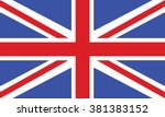 flag of united kingdom | Shutterstock .eps vector #381383152