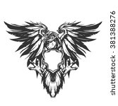 eagle illustration | Shutterstock .eps vector #381388276
