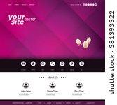 website design template  ...
