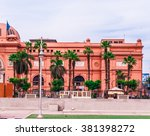 cairo  egypt   february 20  the ... | Shutterstock . vector #381398272