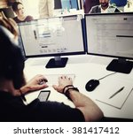 Small photo of Customer Service Officer Working Assistance Concept