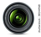 lens camera | Shutterstock .eps vector #38144968