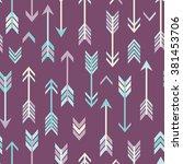 vector abstract modern seamless ...   Shutterstock .eps vector #381453706