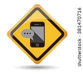 icon handphone vector
