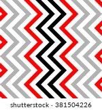 varicolored zigzag pattern for... | Shutterstock .eps vector #381504226
