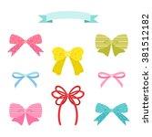 cute ribbon set