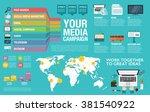 flat design vector illustration ... | Shutterstock .eps vector #381540922