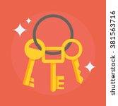 Keys Vector Illustration. Keys...