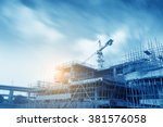 construction site | Shutterstock . vector #381576058