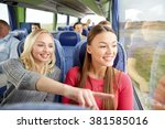 transport  tourism  friendship  ... | Shutterstock . vector #381585016