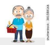 vector cartoon illustration of... | Shutterstock .eps vector #381588166