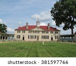 george washington's estate in... | Shutterstock . vector #381597766