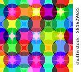 multicolored seamless pattern.... | Shutterstock .eps vector #381629632