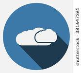 cloud icon | Shutterstock .eps vector #381647365