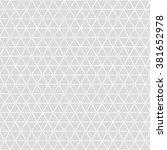 triangle grid design vector... | Shutterstock .eps vector #381652978