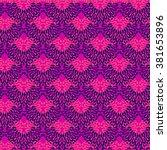 ethnic pattern | Shutterstock .eps vector #381653896