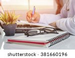 Glasses On Note Book  Doctor A...