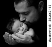 Father 's Love.  Daddy Kisses...