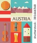 austria icon set | Shutterstock .eps vector #381666568