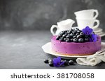 Blueberry Cheesecake With Fresh ...