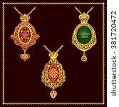 orthodox metal gold order vector | Shutterstock .eps vector #381720472