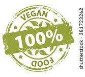 vegan or vegetarian healthy... | Shutterstock .eps vector #381723262