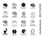 mind icons set   isolated on...   Shutterstock .eps vector #381741418