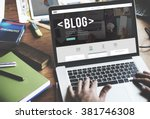 Blog Blogging Homepage Social...