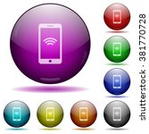 set of color wireless phone...