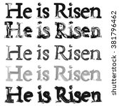Word For Easter  Background. H...