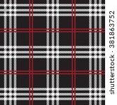 tartan  plaid seamless pattern.   Shutterstock .eps vector #381863752