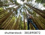 boy recovered from the bottom... | Shutterstock . vector #381890872