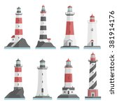 Big Set Flat Lighthouses...