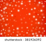 abstract winter background... | Shutterstock . vector #381926392