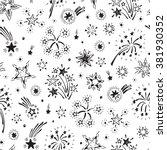 holiday wallpaper. festive... | Shutterstock .eps vector #381930352