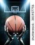 basketball arena | Shutterstock . vector #381937756