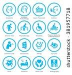 health conditions   diseases... | Shutterstock .eps vector #381957718