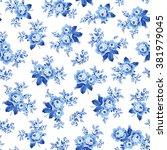 flower illustration pattern   Shutterstock . vector #381979045